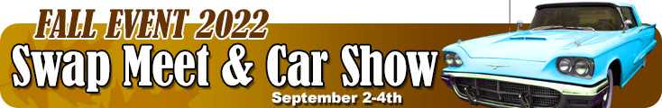 Fall 2017 Swap Meet and Car Show